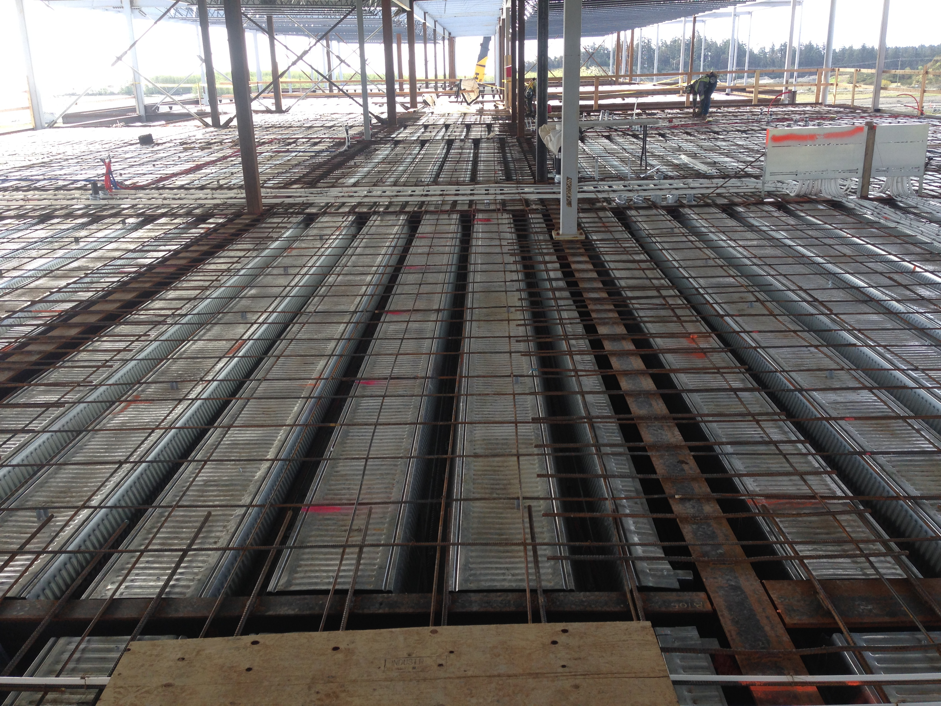 Third Floor Prepped For Pour